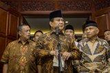Prabowo hadir di Rakernas LDII, klaim tak minta dukungan