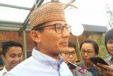 Sandiaga Uno hadiri tabligh akbar Majelis Rasulullah bersama Gatot Nurmantyo