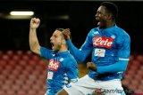 Gol Mertens berhasil amankan kemenangan Napoli
