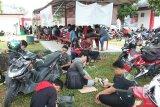 Robohnya menara SUTT, warga Palangka Raya 'serbu' Wifi Id Corner