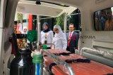 Pertamina Sumbagsel serahkan dua ambulans ke masyarakat