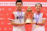 Leo/Indah sabet emas BWF World Junior Championships 2018