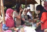 Delegasi Festival HAM blusukan ke Pasar Ting Jati Wonosobo