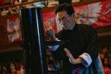 Peserta Kejuaraan Kungfu Internasional Bali disemangati Grandmaster Samuel Kwok