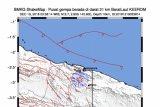 Gempa magnitudo 5,2 guncang Keerom Papua
