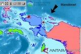 Gempa 3,7 SR landa Kabupaten Manokwari, Papua Barat
