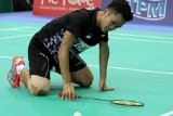 Ginting takluk dari pemain tuan rumah Shi Yuqi