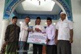 BSM Pembantu Lubuk Sikaping kucurkan bantuan untuk rumah ibadah