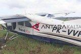 Susi Air dilaporkan tergelincir di Bandara Binuang, sayap rusak