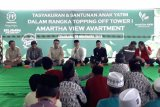 PP Properti topping off proyek Apartement Amartha View Tower 1
