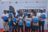 Empat pelari Bali-Jakarta finis di Gelora Bung Karno