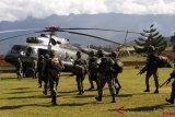 Satu prajurit TNI gugur kontak tembak dengan  KKB di perbatasan RI-PNG