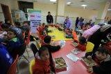 Makanan bergizi dari Dapur Indonesia untuk anak sindrom down Gaza
