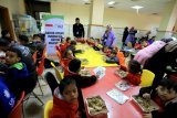 Keceriaan Anak Gaza disapa masakan Indonesia