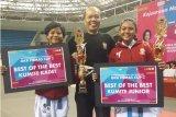 Makassar peringkat dua kejuaraan karate  GKR Hemas Yogyakarta