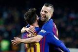 Ini kata Jordi Alba, Kalau saja Messi pensiun