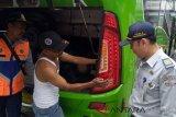 Kemenhub cek bus pariwisata di Lokawisata Baturraden (Video)