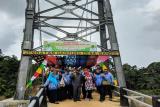 Dua jembatan gantung di Kobar telah selesai dibangun Pemerintah Pusat