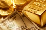 Harga emas berjangka menguat jelang keputusan kebijakan Fed Amerika