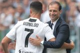 Ronaldo sudah tidak berniat bertahan di Juventus, kata Massimiliano Allegri