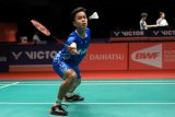 Dijegal Huang, Ginting batal ke babak dua Malaysia Masters
