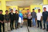 Mahasiswa KKN PPM Itera Buat Maket Desa Hanura