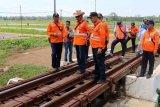KAI Purwokerto tingkatkan pemantauan jalur rawan bencana