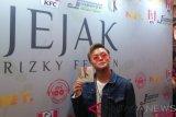 Rizky Febian ungkap alasan tidak masukan lagu andalan di album 'Jejak'