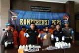 Polres Bantul amankan empat tersangka penjual narkoba