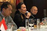 Cristine Hakim hadiri acara relawan Jokowi di Osaka