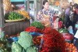 Pasokan melimpah, harga sayuran di Temanggung merosot