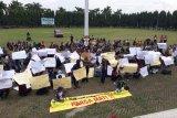 LIRA dan 600 warga Aksi Meminta Pertambangan di Pesawaran Dihentikan