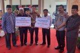 BNI kucurkan bantuan pendidikan di Sumpur Kudus, momen peresmian Mapolsek