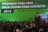 Presiden Jokowi targetkan bangun 3.000 BLK pesantren tahun 2020