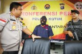 Penjambret di Sampit ditangkap setelah kabur tinggalkan sepeda motor