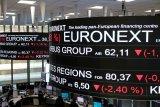 Reli saham Prancis terhenti, indeks CAC 40 anjlok 4,23 persen