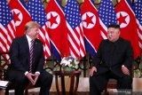 Kim Jong Un mendoakan Trump lekas pulih