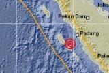 Kepulauan Mentawai diguncang dua kali gempa bermagnitudo di atas 5