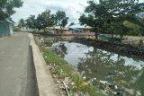 Sungai Borgo di Belang masih dihiasi sampah