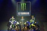 Yamaha MotoGP kenalkan 'livery' baru Yamaha YZR-M1 di Jakarta
