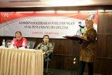 Pemprov Lampung-Kementerian PPPA Tangani Korban Inses