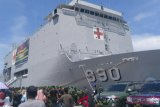 Pangdam lepas 600 prajurit satgas pengamanan Trans Papua
