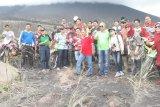 Begini cara para jenderal purnawirawan TNI nikmati Gunung Soputan