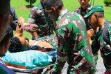 Flash - Anggota TNI AD tewas terkena panah di Deiyai