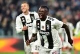 Berkat Moise Kean, Juventus perbesar keunggulan atas Cagliari