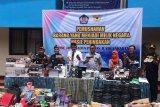 Bea Cukai Yogyakarta musnahkan ratusan barang ilegal sitaan