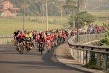 Sambut milad ke-54, petinggi UMP bersepeda ke Banjarnegara