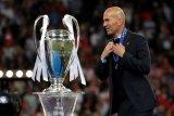 Dua tahun silam, Zidane berhasil torehkan tinta emas di Liga Champions