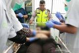 Seorang pelajar tewas seketika usai tabrakan maut di Palangka Raya