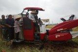 Bupati OKU Timur panen raya demplot padi bebas residu